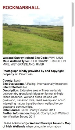Map Of Ireland 26 Counties.Map Of Irish Wetlands Background Information Title